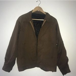 Vietnam war jacket with scolvill fasnteners